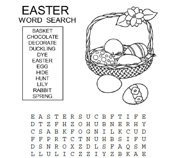 Easter Word Search at ActivitiesForKids.com #wordsearch