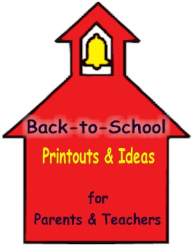 Back to School Ideas, Printables for parents and teachers at ActivitiesForKids.com