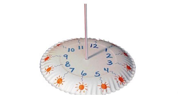 Модель солнечных часов своими руками
