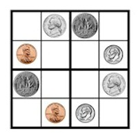 Printable games for kids - Money Sudoku from Activitiesforkids.com