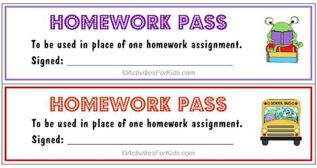 Kindergarten printable homework sheets mycrws.com