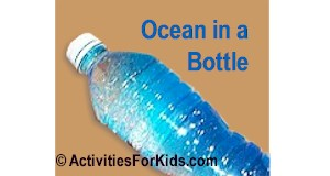 Ocean in a Bottle Activity for Kids
