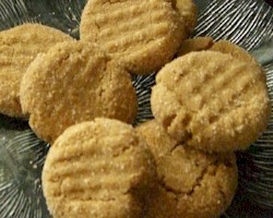 3 Ingredient Peanut Butter Cookie recipe from Activities for Kids