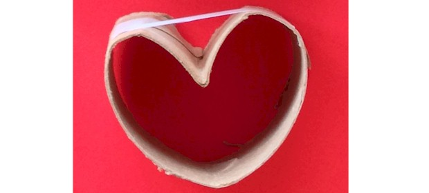 TP heart stamp.