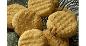 Recipes for kids.  Only 3 ingredients to make these peanut butter cookies at ActivitiesForKids.com.