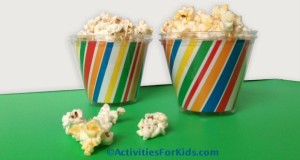 Simple way to decorate the table for a kids party.  ActivitiesForKids.com