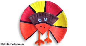 Incorporate fractions when doing this Thanksgiving Turkey.  ActivitiesForKids.com