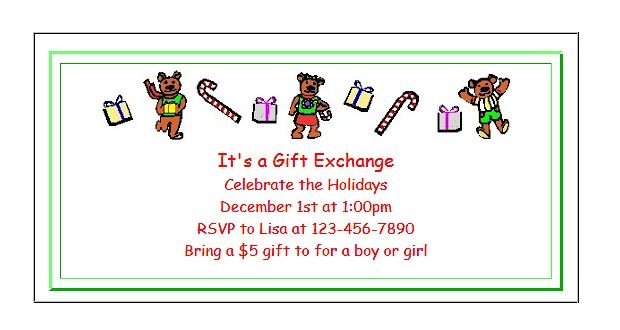 Free printable invitations for kids at ActivitiesForKids.com