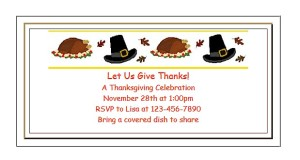 Have the kids create invitations for Thanksgiving dinner to send to family and friends at ActivitiesForKids.com