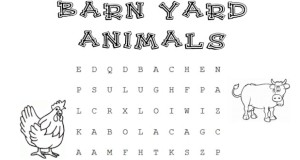 Animals that you would find on the farm.