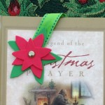 Poinsettia Bookmark