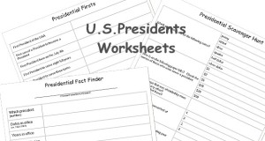 Three printable classroom worksheets to learn more about the President of the United States.
