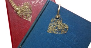 Heart of Gold Bookmarks