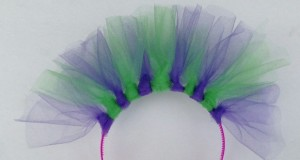 Cute decorative headband to wear as a crown or to dress up for a party.