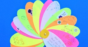 Group thank you card from the classroom