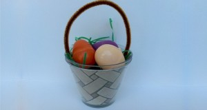 Solo Cup Easter Basket