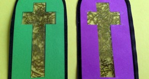 Cross Bookmarks Craft