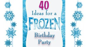Frozen Party Ideas - over 40 ideas, recipes, party games and decorations.