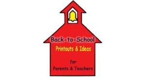 Free printouts for Back to School for teachers and parents.