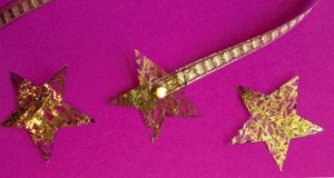 Gold Star Bookmark