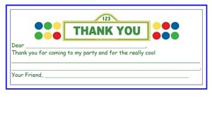 Printable thank you card with fill in the blanks for kids.