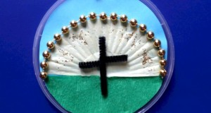 Easter Cross Craft for children