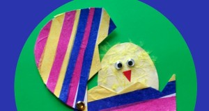 Hatching Chick Easter Craft for Kids