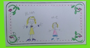 My Mom Mother's Day Card.  Kids tell about their mom.
