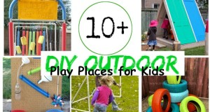 Backyard Play Places for Kids