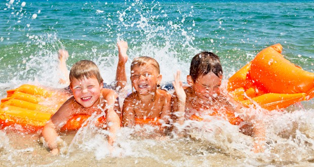 Things to do at the beach with kids - something different to do at the beach.