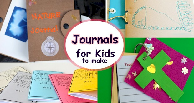 List of Journals for Kids to Make.