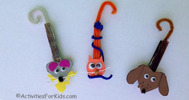 Fridge Magnets activity for kids