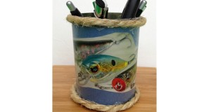 Pencil holder for Dad this Father's Day - Crafts and gifts for kids to make.