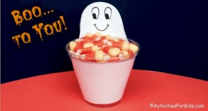 Ghost Candy Cup