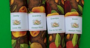 Thanksgiving Napkin Place Cards for kids to customize and print.