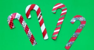 Printable Candy Cane Craft for your classroom.