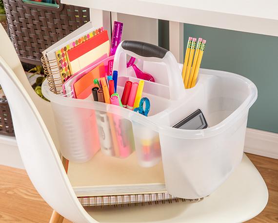 Work Caddy for Homework Supplies